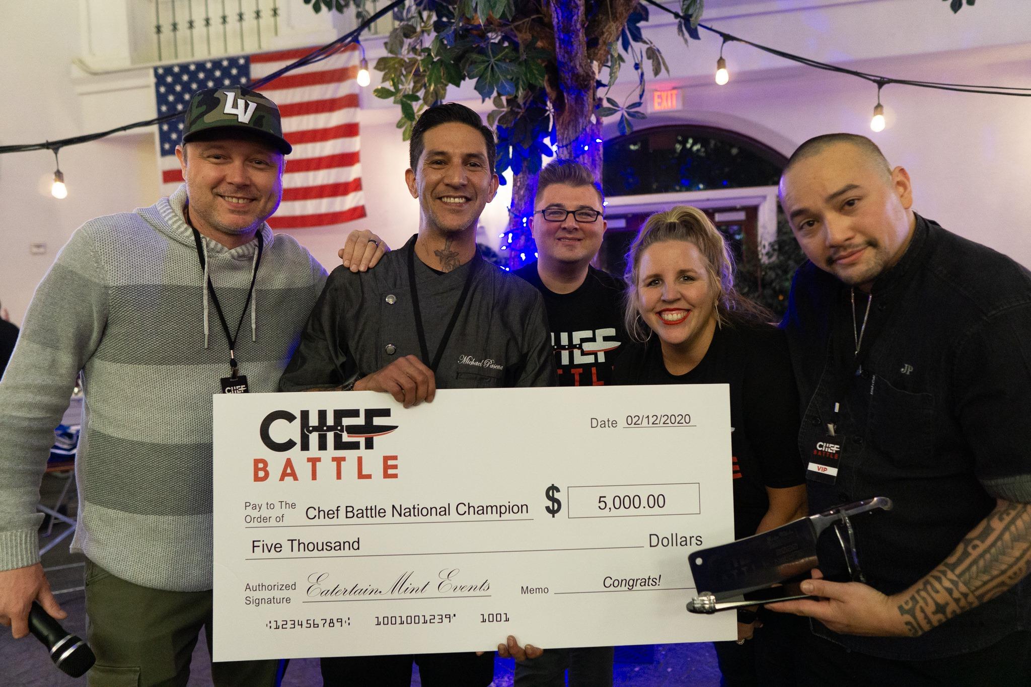 Chef Battle Winner   Hospitality Fund