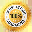 our 100% guarantee