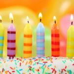 Velas de cumpleaños infantiles y para adultos