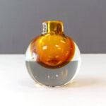 murano-amber-crystal-sommerso-bud-vase-1B