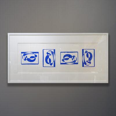 Josef Albers Rare Original 1972 Silkscreen Print