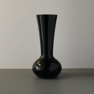 large-black-opaque-glass-midcentury-vase