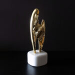 brass-abstract-sculpture-marble-base