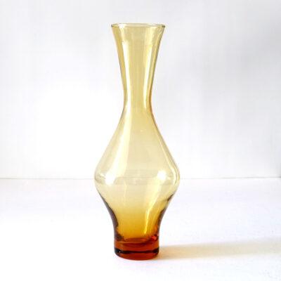 scandinavian-style-mid-century-amber-glass-vase