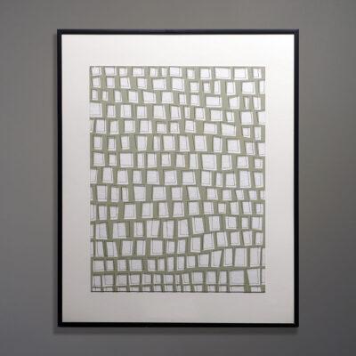 Moya Aiken Original Artwork Cut Board 12 x 16
