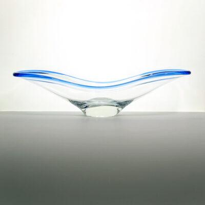 rosenthal-cobalt-blue-blown-glass-console-bowl