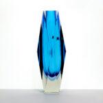 tri-color-blue-block-facet-cut-crystal-vase