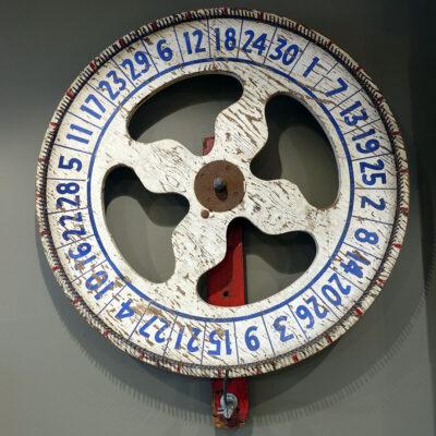 Antique Carnival Gaming Wheel