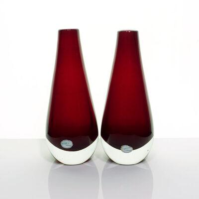 reijmyre-sweden-pair-ruby-red-bud-vases