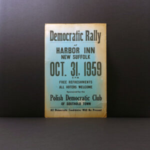 New Suffolk Democratic Rally poster