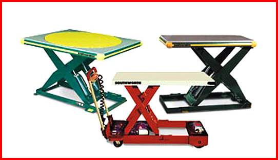 Industrial Lift Tables & Work Positioners