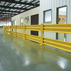 Guard Rail | High Volume/Low Speed Industrial Fans | Doors: Impact, Strip & Air