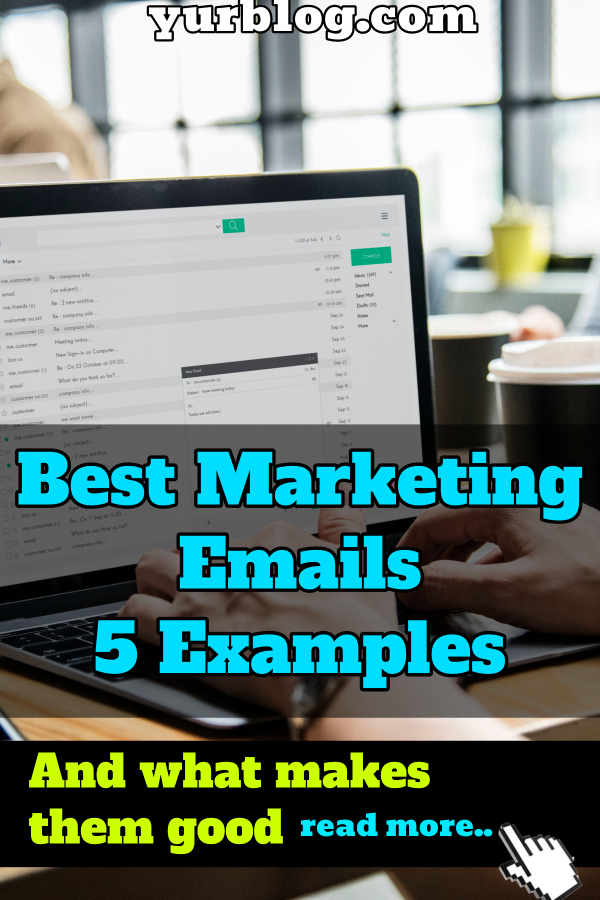 best marketing emails