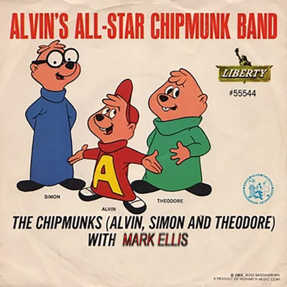 Chipmunks Cover Mark Ellis