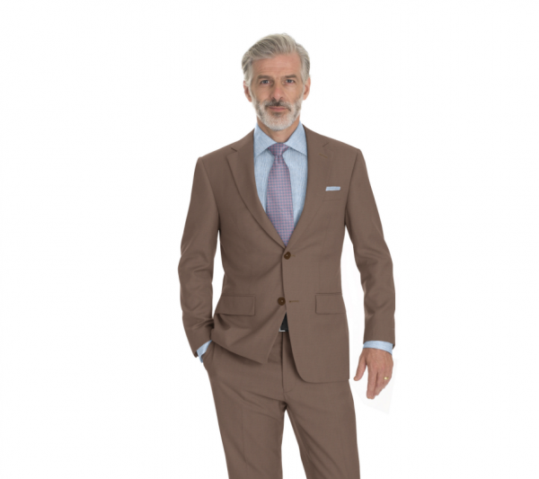Modern Two-Piece Suit w/Zegna Cloth - Ezra Cayman Bespoke Couture