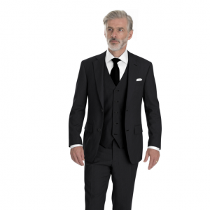 Classic Three-Piece Suit w/Scabal Cloth -