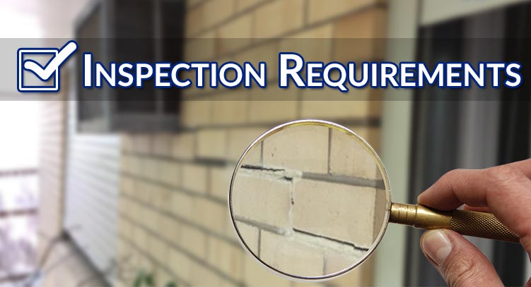 general inspection requirements