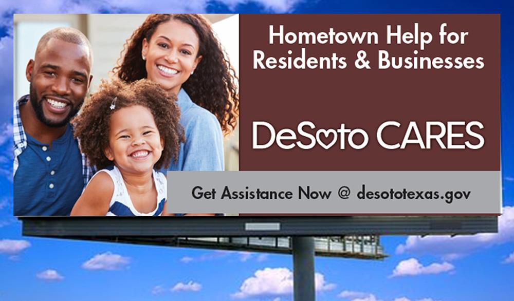desoto cares billboard