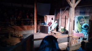 Ted Swartz and Jeff Raught performing The Jesus Stories