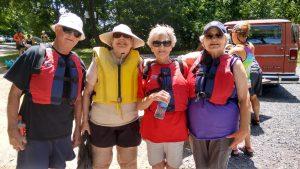 LtoR: Don Brown, Sharon Helbert, Joyce Leake, & Brenda Fox