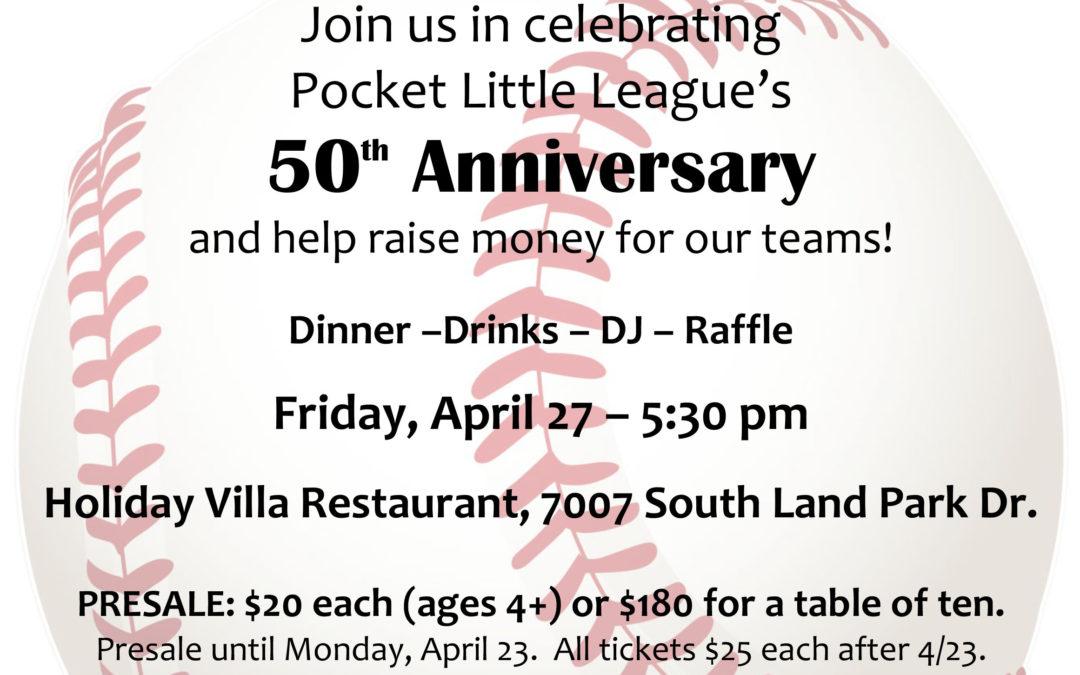 50th Anniversary Fundraising Dinner!