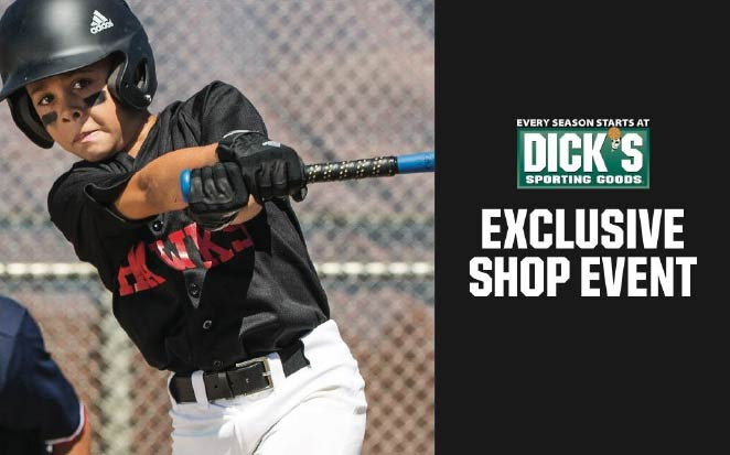 Dick's Exclusive Shop Event banner image