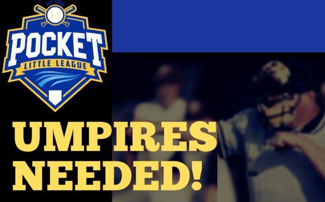 Umpires Needed! Sunday, March 1: Umpire Clinic
