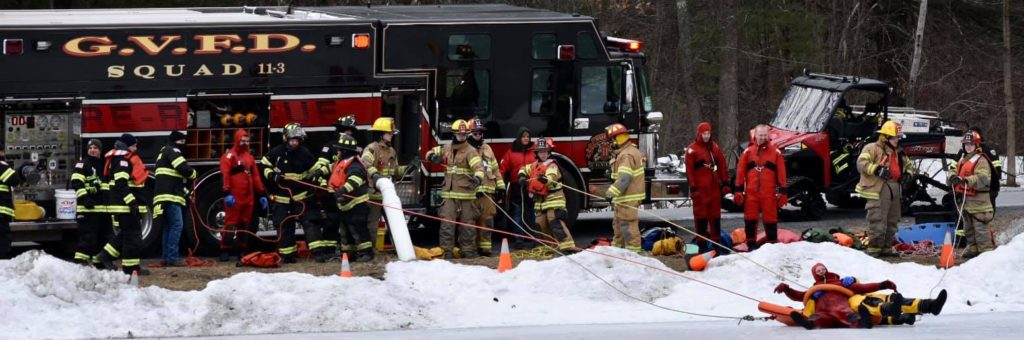 Ice Rescue Drill 2021