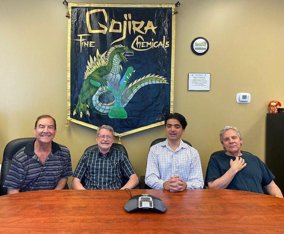gojira fine chemicals team