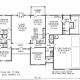 Floor plans for 3700 Dragon Fire Court in Newcastle OK