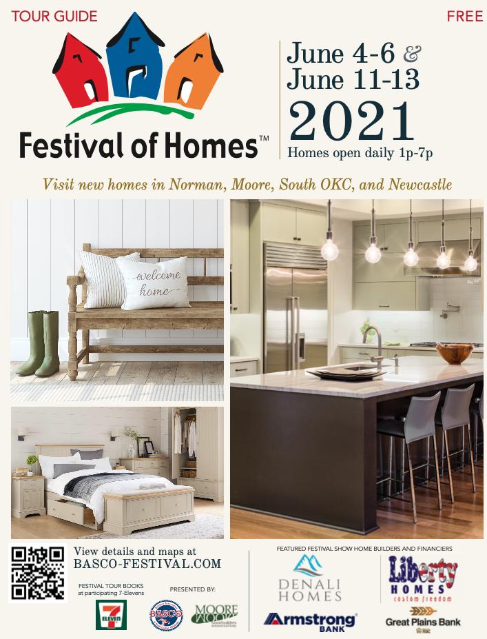 2021 Festival of Homes tour guide magazine