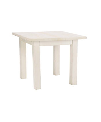 3' X 3' Whitewashed Farm Tables