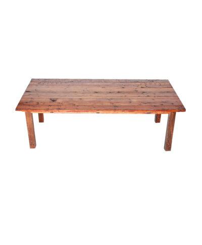 4'X8' Mahogany Farm Tables