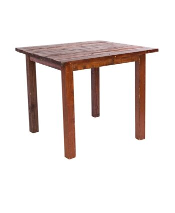 4'X4' Mahogany Farm Tables