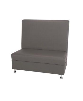 4ft Gray Mod Furniture High Back