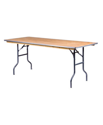 "6'X30"" Rectangular Banquet Tables"