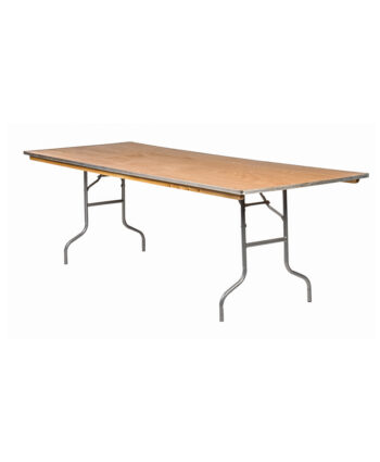 8'X36' Rectangular Banquet Tables