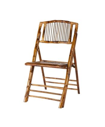 Bamboo Wood Folding Chair