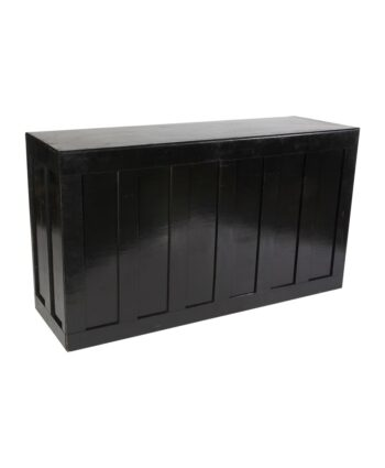 Black Wooden Bar