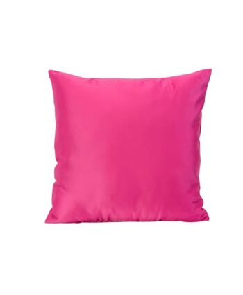 Bright Pink Color Theory Pillows
