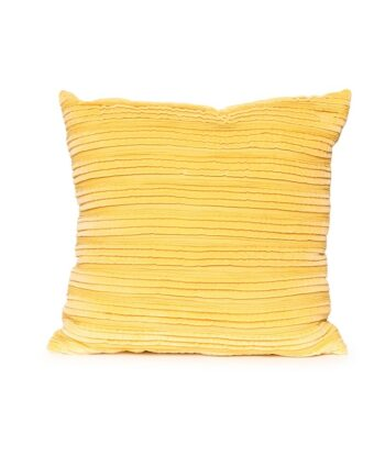 Buttercup Velvet Pillow