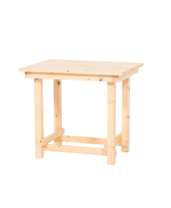 The Hank End Table - Natural Wood