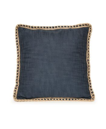 Navy Hipster Pillow