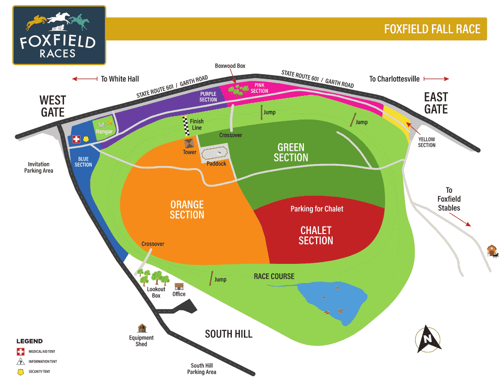 Fall race map
