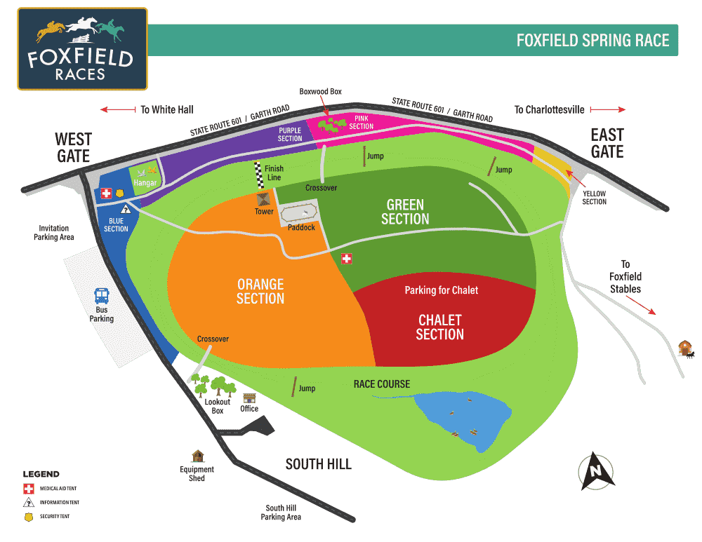 Spring race map