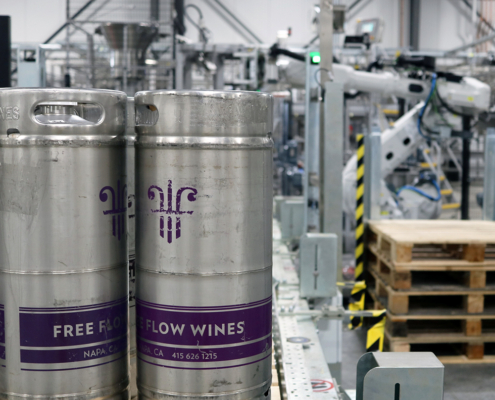 Wine kegging and automation