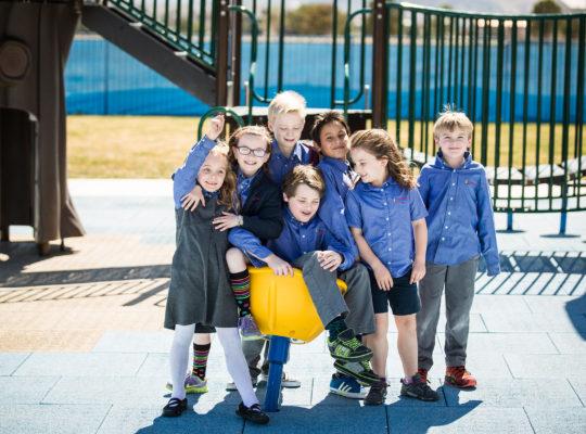 Triad School Outside Playground