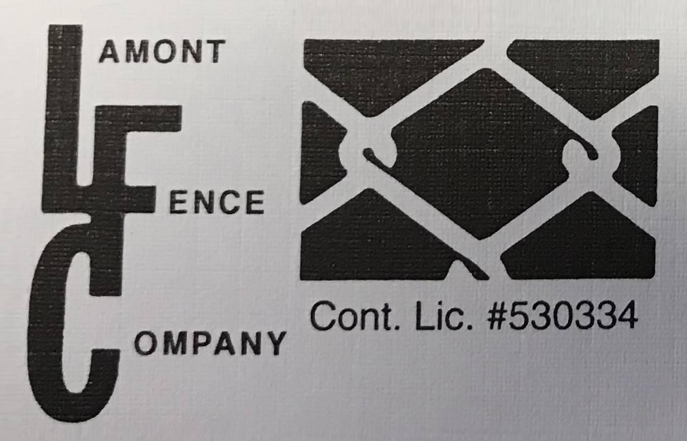 Lamont Fence Company Logo Edit