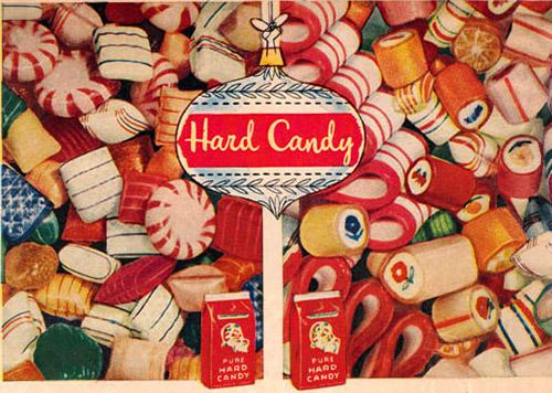 Christmas Hard Candy ribbon candy