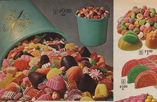 Sears Catalog – Christmas Hard Candy french creams